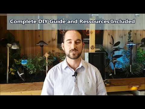 DIY Low Voltage Landscape Lighting Kits