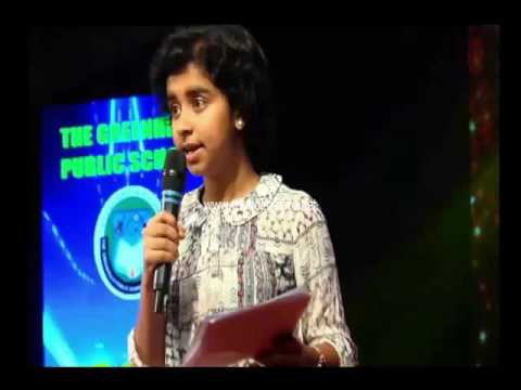 Reduce Reuse Recycle - Live Presentation by Meenakshi Sunil and Christina Mathew.