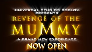 Revenge of The Mummy - Universal Studios ROBLOX [POV]