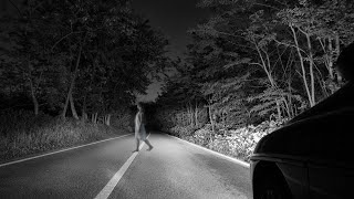 Real Ghost Caught on Camera From Haunted Road !! Real Scary Video Footage