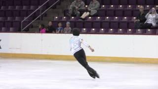 2015 ISU Jr. Grand Prix- Colorado Springs Men Short Program Nathan CHEN USA
