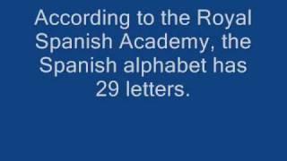 Spanish alphabet song (military style) by Barbara MacAurthur