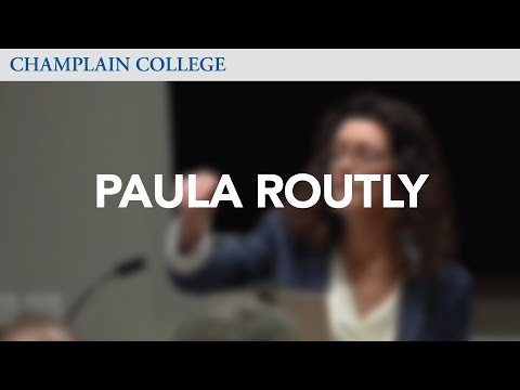 Paula Routly: Speaking from Experience