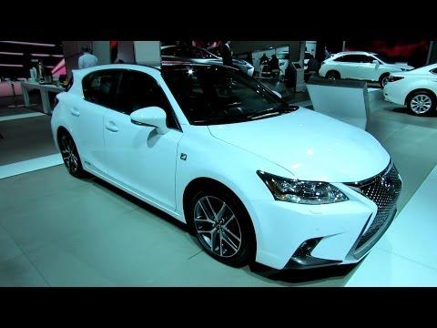 2016 Ct200h F Sport - 2015 Lexus CT200h F-Sport - Exterior and Interior Walkaround - 2014 Detroit Auto Show