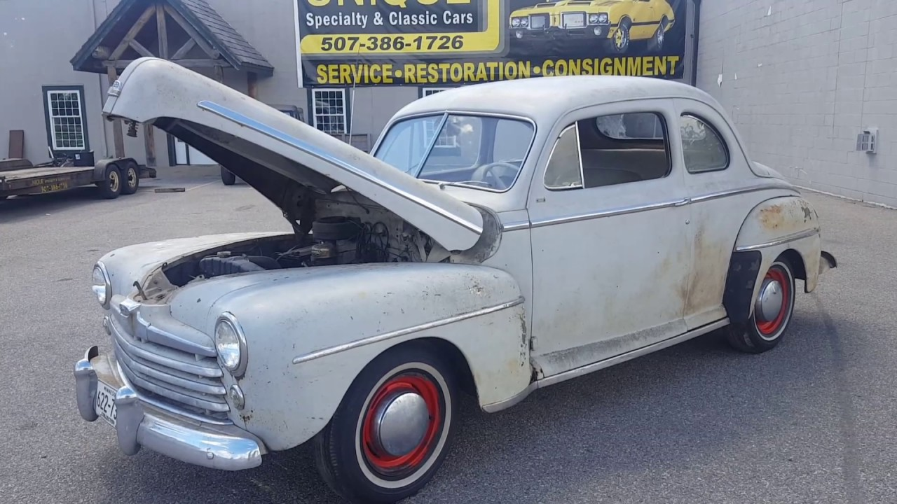 1948 Ford Coupe for sale!