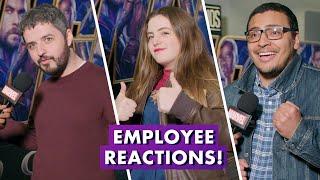 Marvel Employees React to Marvel Studios' Avengers: Endgame | Earth's Mightiest Show Bonus