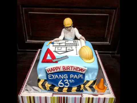 engineer cake decoration youtube