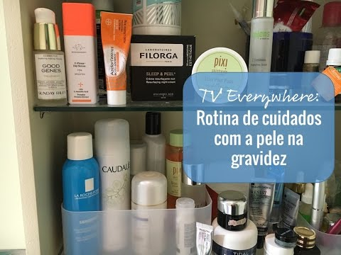 TV #Beauty Everywhere: Rotina de cuidados com a pele na grav