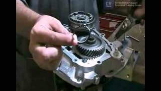 D16 Manual Transaxle Disassemble Chevy Optra Aveo Part 1