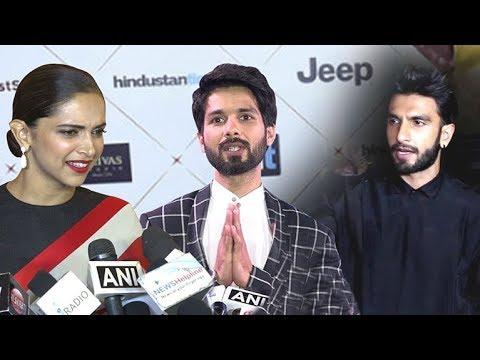 Deepika Padukone's Reaction On Ranveer Singh & Shahid Kapoor's FIGHT Because Of Padmavati Movie Mp3