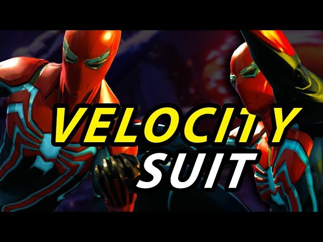 Spider Man PS4 Suit Reveal - Velocity Suit  OMGooodness!