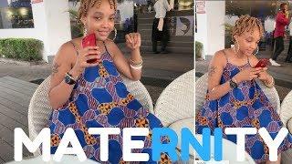 Tunda aonesha picha akiwa na nguo ya maternity, mashabiki wamzodoa kwa 'caption' yake