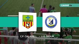 El CF Calafell s'emporta el derbi!