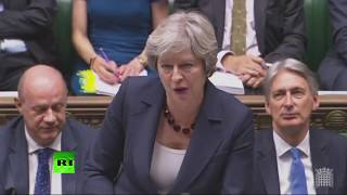 LIVE: Theresa May holds PMQs after Labour MP suspended