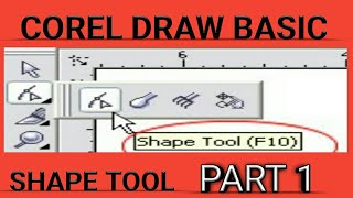 coreldraw shape tool tutorial hindi