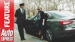How to be a celebrity chauffeur - learning the ropes in a Maserati Quattroporte