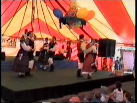Slovenian dance group Melbourne (Eltham Festival 1992)