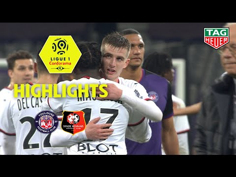 Toulouse Rennes Goals And Highlights