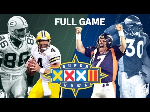 Super Bowl XXXII Elway's 1st Super Bowl Win | Green Bay Packers vs. Denver Broncos (FULL GAME) | NFL