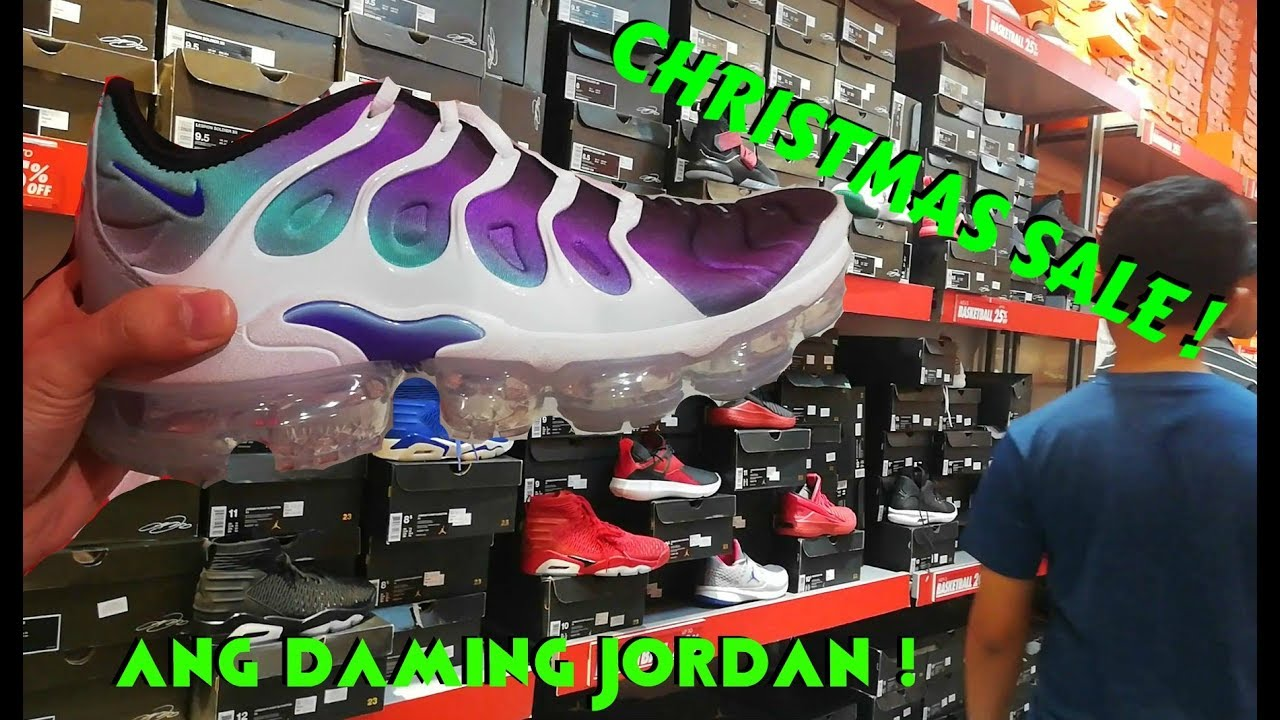 a6a4f4fb1 NIKE OUTLET STORE MARIKINA CHRISTMAS SALE !!! ( ang daming JORDAN ...
