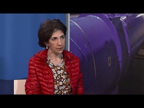 """Fabiola Gianotti: """"Alla scoperta dell'universo con l'acceleratore LHC"""" - global conversation"""