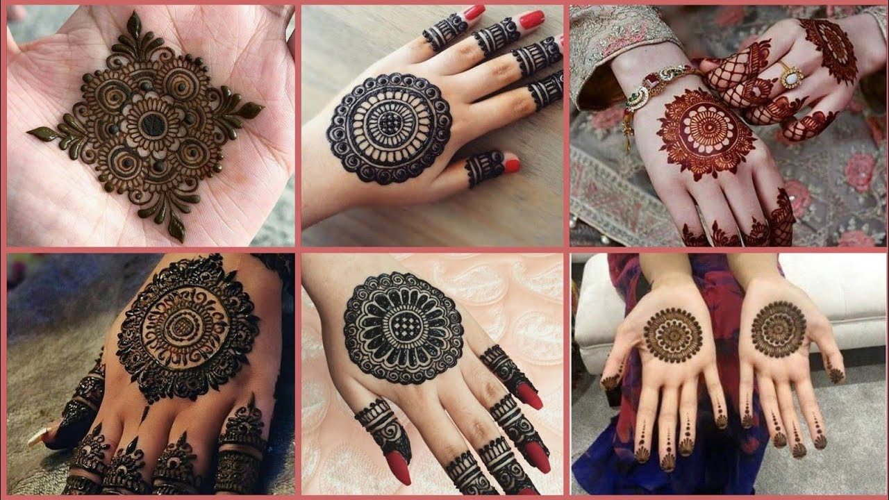 Stylish Back Hand Kashees Mehndi Designs 2019 For Eid