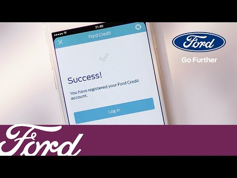 FordPass How To Add Your Ford Credit Account | Ford UK