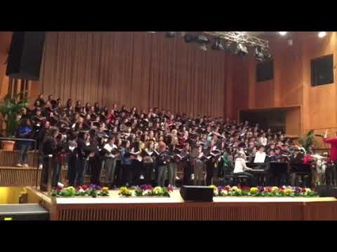 Amis senior Honor choir 2018 Berlin