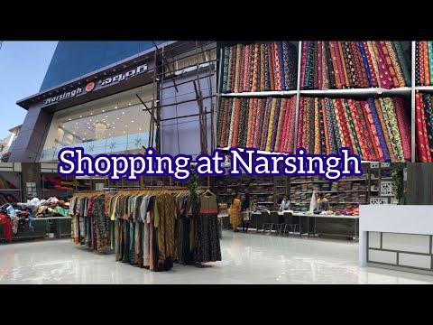 Shopping From Narsingh Vlog ! / Telugu vlogs in Hyderabad / poojitha reddy