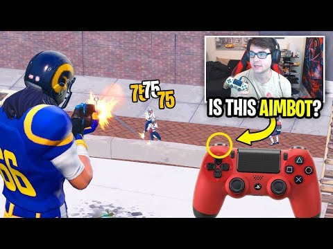 I Tried L2 SPAM on Controller To See If It Was AIMBOT... (Fortnite Experiment)