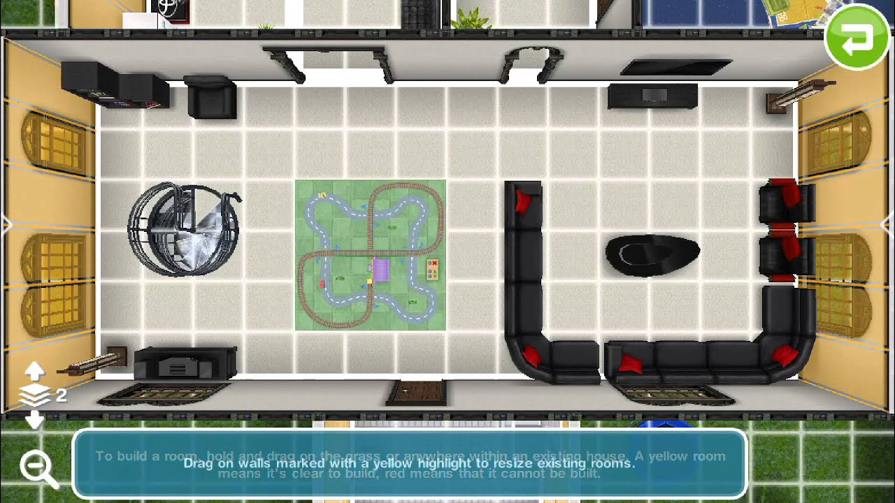 Sims Freeplay Two Story Mansion Layout Youtube
