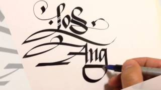 Calligraphy - Los Angeles
