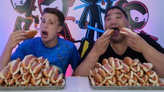 I challenged a SUMO to an EATING CONTEST!