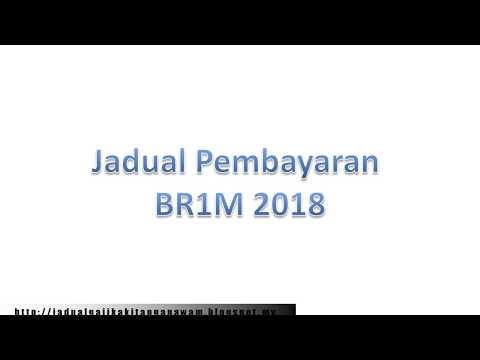 Jadual Pembayaran brim 2018