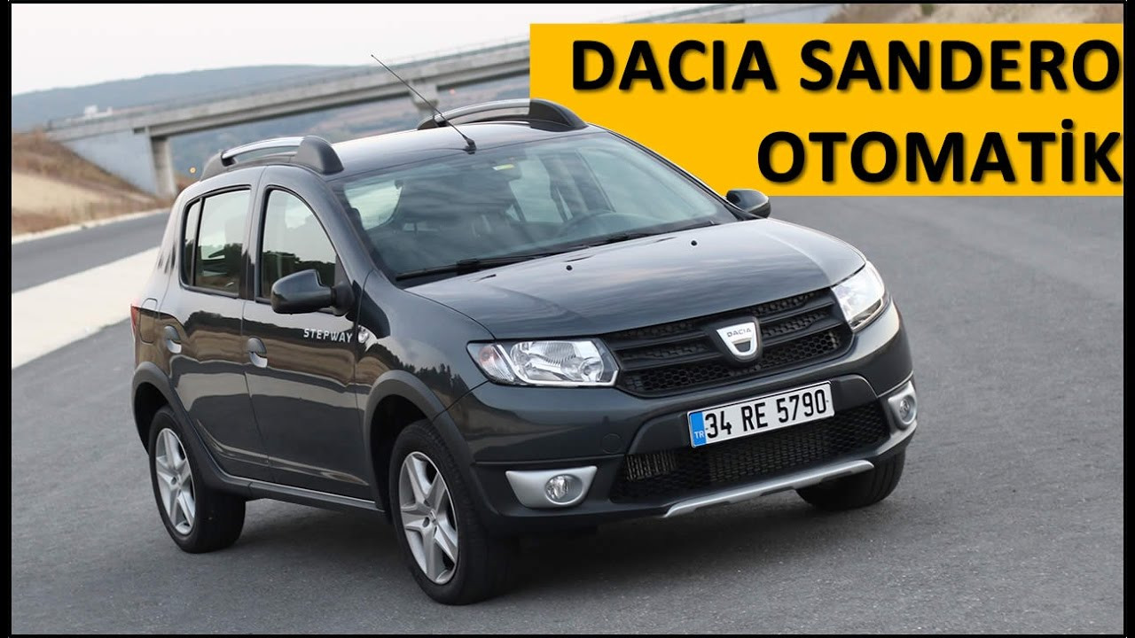 dacia sandero easy r otomatik vites test s r yorum inceleme youtube. Black Bedroom Furniture Sets. Home Design Ideas
