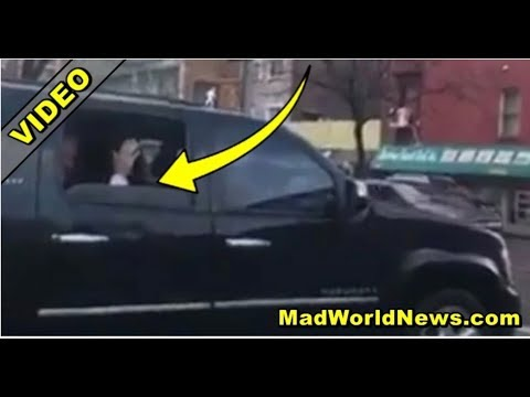 WATCH BILL CLINTON SPOTTED IN BLACK SUV FLEES WHEN NEW YORKER ASKED 1 QUESTION!