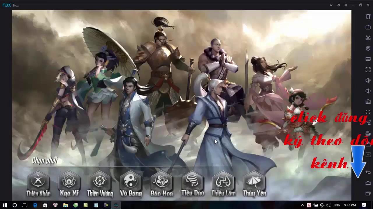 Hướng dẫn cài giả lập để chơi game võ lâm TK mobile trên máy tính_võ lâm  vng channel