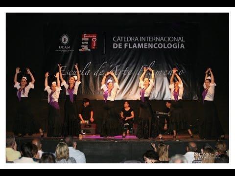 """FANDANGUERAS"". Escuela de Arte Flamenco. 2014"