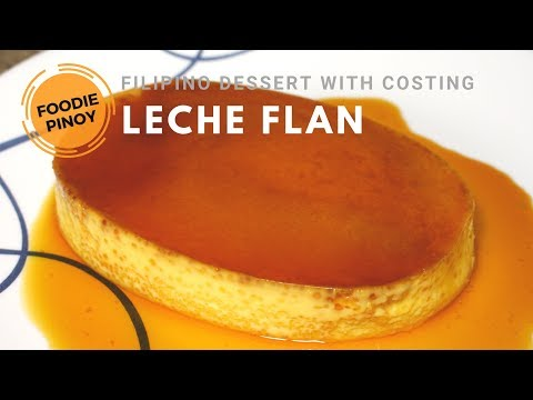 How To Make Powdered Milk Leche Flan For 30 Pesos | Filipino Dessert Food Recipe | Foodie Pinoy
