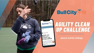 AGILITY CLEAN UP CHALLENGE | Got socks? Try to beat our high score!