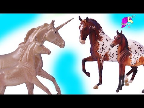 Most Beautiful Mare and Foal New Breyer Horses !!! Honey Hearts C Video
