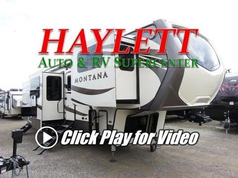 HaylettRV.com   2017 Keystone Montana 3731FL Front Living Room Luxury Fifth  Wheel RV