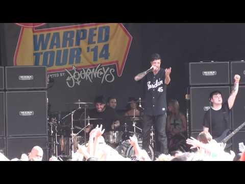 you make me sick of mice and men live warped tour scranton 2014