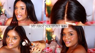 "MY VERY FIRST STRAIGHT WIG! (BEGINNER FRIENDLY) Royalme ""Fake Scalp"" Glueless Melt Down Wig"