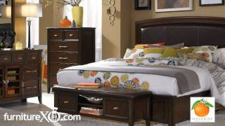 Tangerine 300 Bedroom Set By Pulaski Furniture