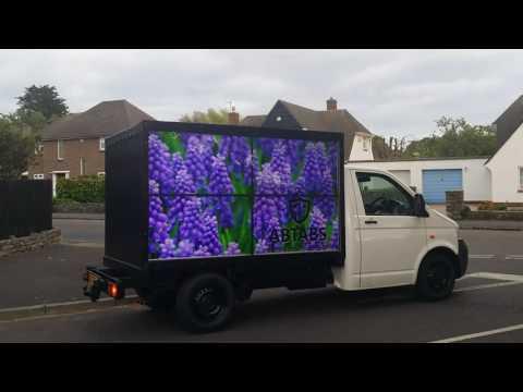 HD advertising van