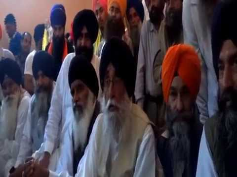 Simranjit Singh Mann Started His Campaign from Khadoor Sahib Press Conference (Part 3)