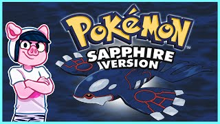 🔴 Pokemon Sapphire Nuzlocke but all the pokemon are randomized... (10 Members = 1 Pack Open)