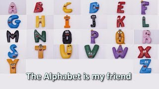 The Alphabet is My Friend - The Singing Barbapapa Letters Song