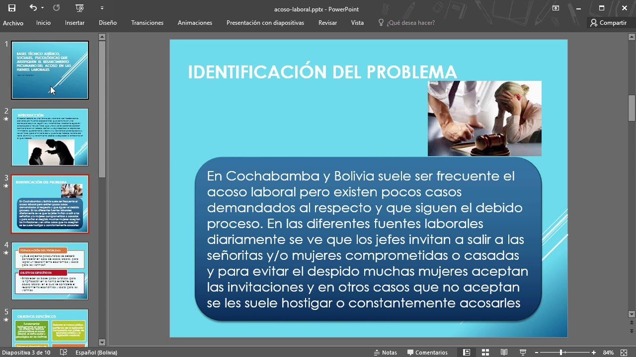 Convertir Una Presentación Powerpoint A Video Youtube